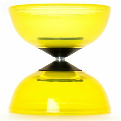 Yellow Mr Babache Tornado Crystal Diabolo (COMES WITHOUT STICKS) • 22.99£