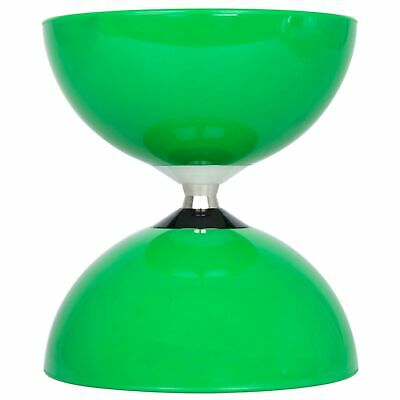 Juggle Dream Big Top Bearing Diabolo-Green (COMES WITHOUT STICKS) • 15.99£