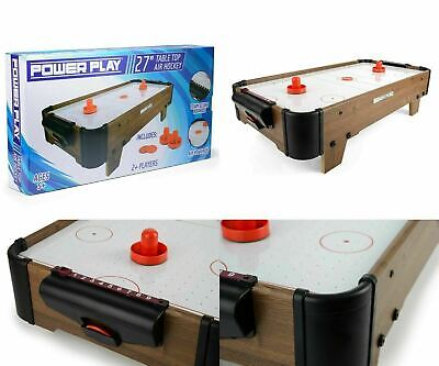 Toyrific Power Play 28  Table Top Air Hockey Kids Adults Family Game Toy Set NEW • 31.99£