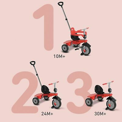 SmarTrike 3-in-1 10 Months To 3 Yrs 3 Stages Touch Steering Breeze Smart Trike  • 39.99£