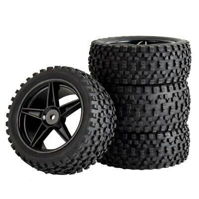 1:10 Buggy Tires Tt-02B Tyres For Tamiya TT-02B HSP HPI 1/10 Off-Road Buggy WR8 • 11.95£