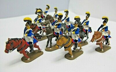 Napoleonic Soldiers -  White Metal  Painted Cavalry - (3373) • 12.99£