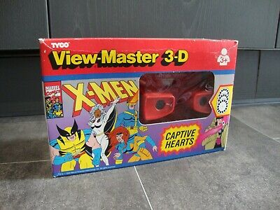 Tyco View Master 3d Marvel X-men Captve Hearts 3+ With Original Box  • 35£