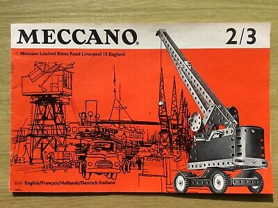 Meccano Catalogue ~ 2/3  1967 (Original) • 6.95£