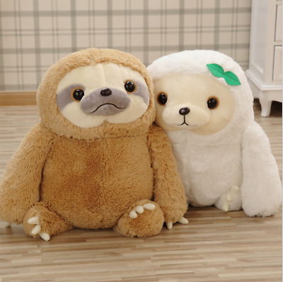 New Cute Sloth Stuffed Plush Animal Doll Soft Toys Pillow Gifts Cushion Giant • 15.68£