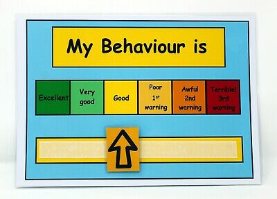 MY BEHAVIOUR IS CHART -  ADHD, Autism, SEN, PECS, Visual Behavioural Aid, ASD • 3.99£