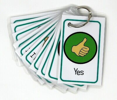 Communication Flash Cards - Autism, ADHD, Visual Non Verbal Communication, SEN,  • 5.99£