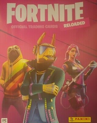Panini Fortnite Reloaded 2020 Trading Cards Rarity Cards 1- 190 • 1.25£
