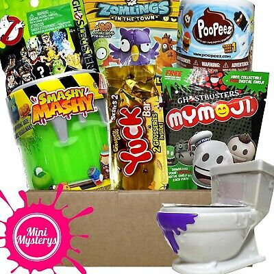 BOYS TOY GIFT BUNDLE Inc Minecraft, Roblox, Bendy And The Ink Machine Blind Bags • 18.99£