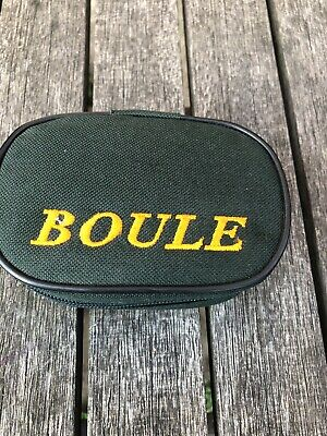 Vintage OBUT Petanque/Boules Set Of 6 Small Boules & Jack With Case • 34.99£