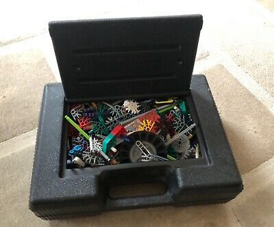 Mixed Box Of K'Nex In Black Carry Case - No Instructions • 20£