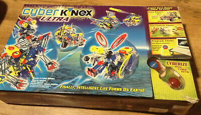 Cyber K'nex ULTRA - Complete With Box - Builds 5 Different Models • 30£