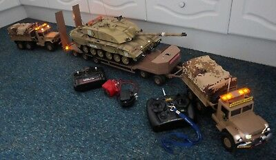 Radio Controlled Tank Transporter, Trailer And Lorries. 1/14 Scale • 1,300£