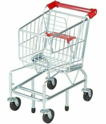 Melissa & Doug Shopping Trolley Sturdy Metal Frame Bnib • 47.95£