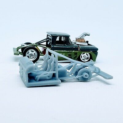1 Pc. Truck Race Frame 1:64 Scale Engine 3D Printed Resin For Hot Wheels • 2.93£