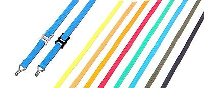 Tension Belt ELASTIC For 1/14 Trucks -> Secure Your Scale Cargo! 8 Colors. • 10£