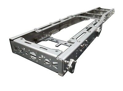 512mm Chassis Frame 8x4 6x4 6x2 MEDIUM For Tamiya 1/14 Truck STEEL!!! • 133£