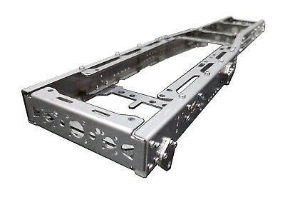 611mm Chassis Frame 8x4 6x4 6x2 LONG For Tamiya 1/14 Truck STEEL!!! • 155£