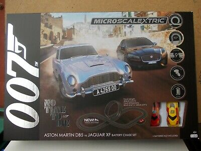 Micro Scalextric G1161 No Time To Die Brand New 2020 Set With Different Cars    • 29.99£