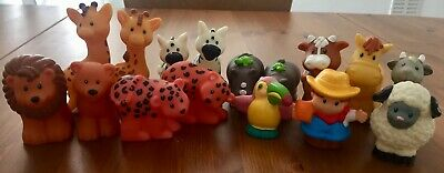 Little People Mixed Animals And A Figure • 10£