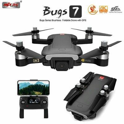 MJX Bugs 7 B7 RC Drone + 4K Camera 5G Wifi Brushless GPS Optical Flow Quadcopter • 127.90£