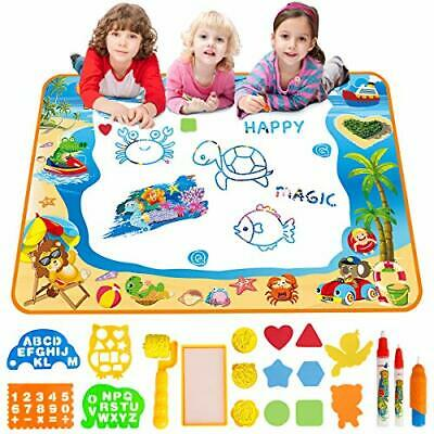 Water Doodle Mat Aqua Drawing Painting Large 100 X 70cm Multicoloured  • 30.79£