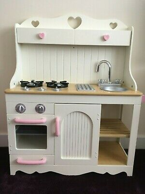 KidKraft Prairie Wooden Pretend Play Toy Kitchen For Kids - Used • 120£