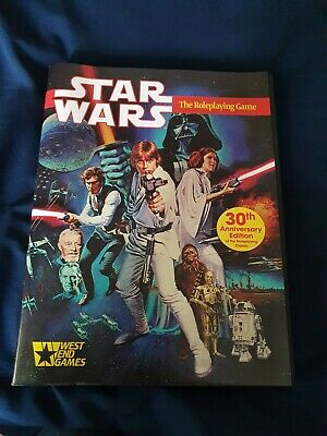 Star Wars The Roleplaying Game 30th Anniversary Edition • 30£