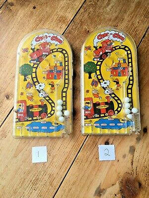 Vintage 1970's Marx Toys Choo Choo Train Station Pinball Bagatelle Handheld Game • 27.50£