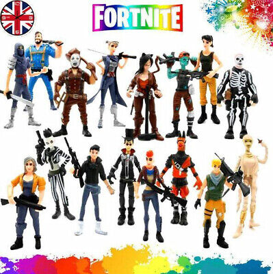Fortnite Action Figures 16Pcs Heros Save The World Kids Toy Gift UK Free P&P!!! • 13.97£