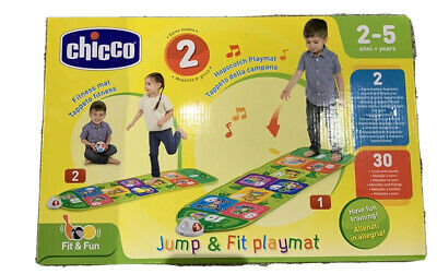 Chicco FIT N FUN HOPSCOTCH PLAYMAT Toddler Child Interactive Sports Toy BNIP • 20£