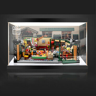 Acrylic Display Case Building Block Display Box For Lego 21319 Friends Cafe • 27.99£