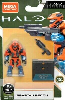 Mega Construx Halo Infinite Spartan Recon ,series 12 Figure. New In Stock  • 12.99£