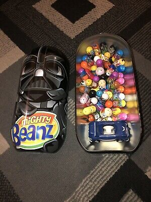 Mighty Beanz 51pc Collection In Star Wars 2010 Collectors Tin Plus Car • 29.99£