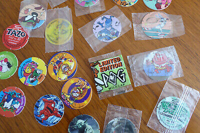 Assorted Tazos • 3£