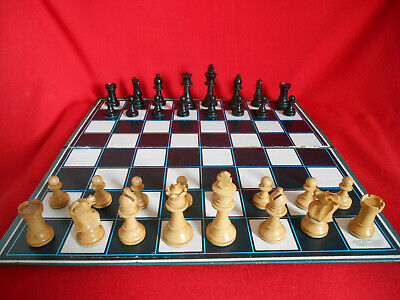 Vintage Staunton 70 Mm Chess Set; Weighted And Felted With Box • 39.75£