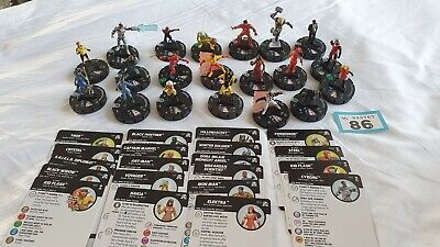 Heroclix Figures And Cards (86) • 9.99£