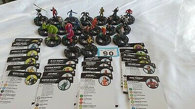 Heroclix Figures And Cards (90) • 9.99£