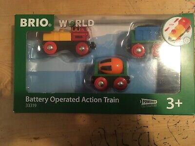 Brio Battery Operated Action Train 33319 New And Unopened • 15£