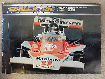 Scalextric 18th Edition Booklet • 3£
