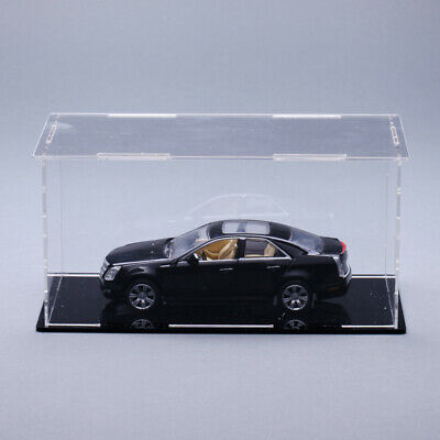 Various Sizes Acrylic Plastic Cars Toy Display Case Box Dustproof Self-Assembly • 25.93£