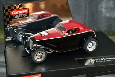 Carrera Evolution 27201 - '32 Ford HotRod Supercharged - Boxed • 74.99£
