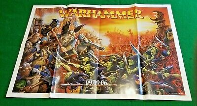 Games Workshop White Dwarf Poster  Double Sided • 3.99£