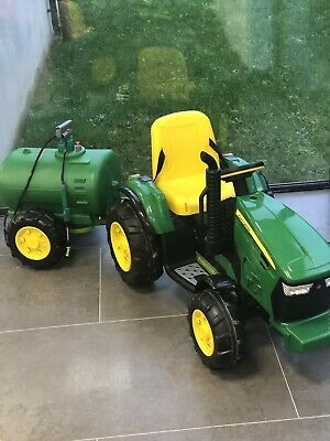 John Deere Tractor & Trailer Electric 12v • 250£