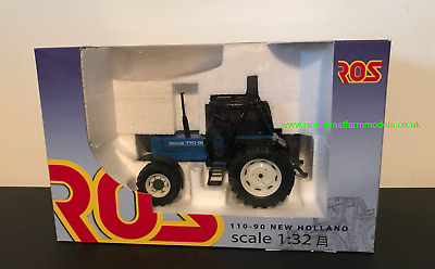 Ros 1:32 Scale New Holland 110-90 Blue Limited Edition • 40£