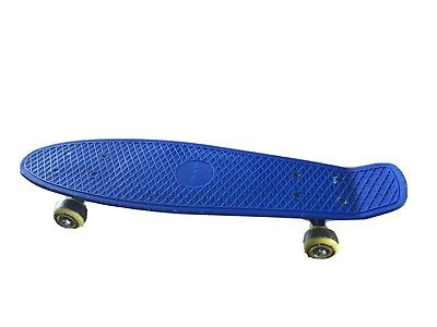 "Skateboard Beginners Penny Board Blue Atlantic Riff Kids, Adults 22"" • 17.99£"