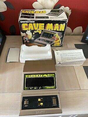 Grandstand Caveman Vintage Retro Electronic Hand Held Game Boxed + Instructions  • 89.99£