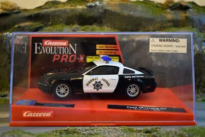 Carrera Evolution PRO-X - 30254 - Ford Mustang GT Highway Patrol - Boxed • 49.99£
