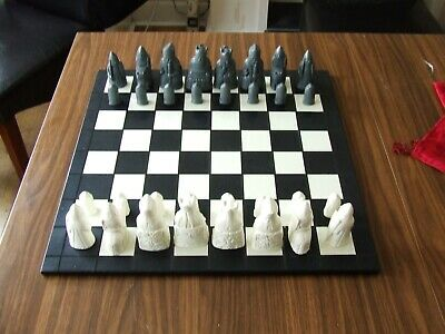 A Fascinating Medieval Isle Of Lewis Chess Set Chessmen • 15£