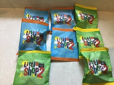 Marks & Spencer Little Shop 2 — 8 Items (5 New And Sealed 3 Opened) • 6.50£